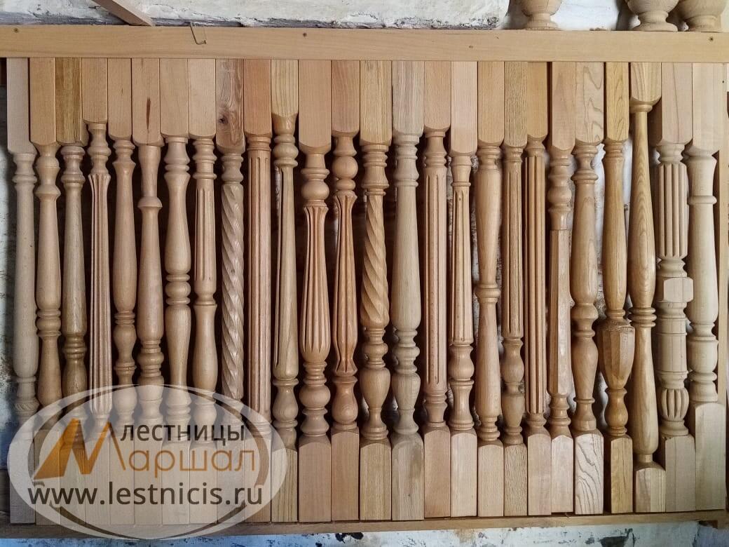 Деревянные балясины для лестниц Краснодар Крым