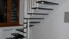 Лестница на больцах фото в частном доме Краснодар Крым