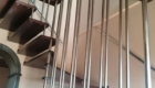 Лестницы на больцах с художественной ковкой в частном доме Краснодар Крым