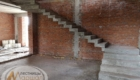 Деревянная лестница на бетонном основании Краснодар Крым