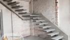 Монтаж лестницы на бетонное основание Краснодар Крым