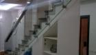Ограждения лестниц со стеклом в дом Краснодаре Крыму
