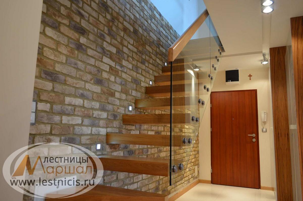 Консольная лестница конструкция Краснодар Крым