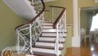 Перила кованые для лестницы в доме Краснодар Крым