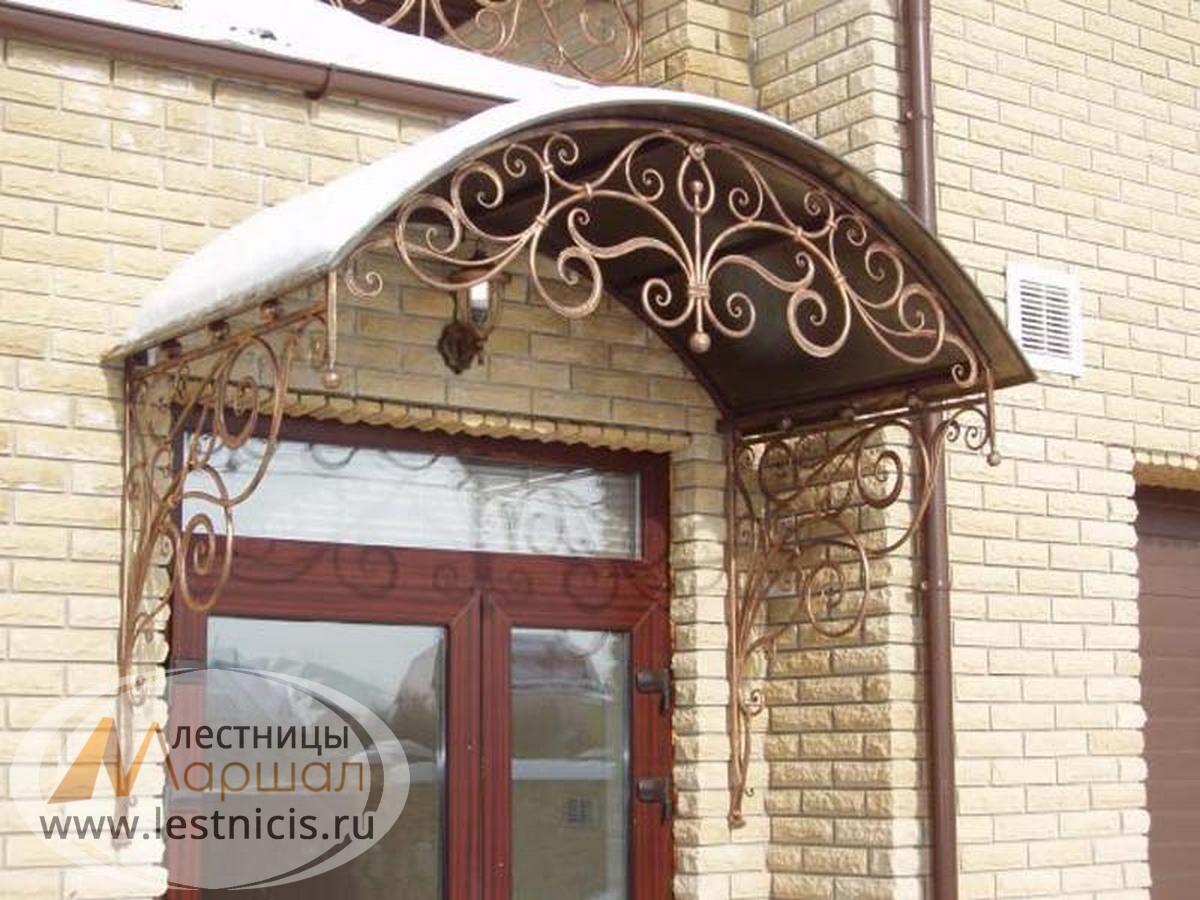 Козырек над дверью купить готовый в Краснодаре