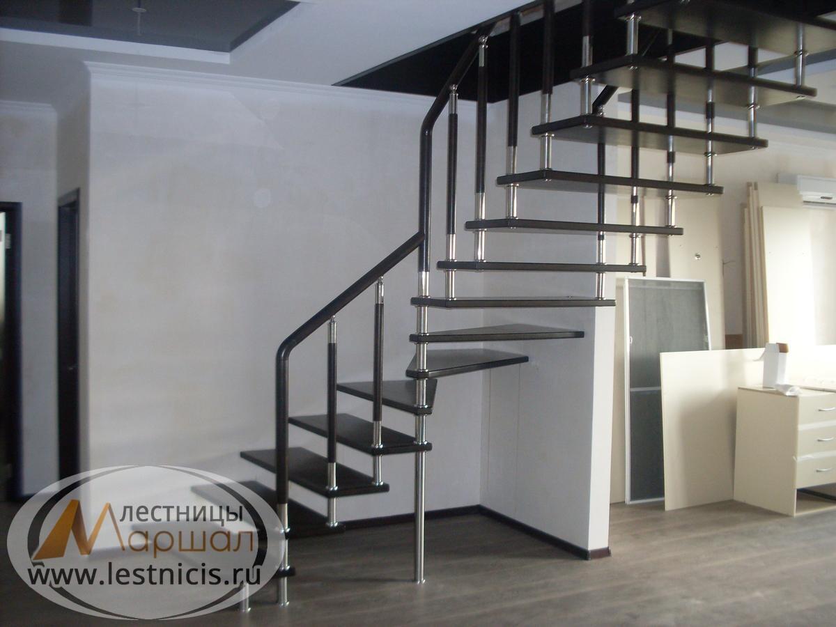 Больцевая лестница в частном доме Краснодар