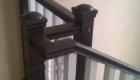 Лестница на металлическом косоуре изготовление лестниц в Краснодаре Крыму