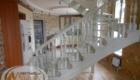 Лестница на косоурах в доме Краснодар Крым