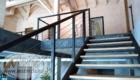 Лестница на тросах лестницы второго этажа Краснодар