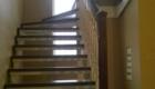 Лестница на косоурах с поворотом изготовление лестниц в Краснодаре Крыму