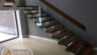 Перила со стеклом для лестниц Краснодар Крым