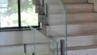 Лестница со стеклом на второй этаж Крым Краснодар