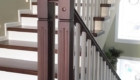 Бетонная лестница поворотом изготовление лестниц в Краснодаре Крыму