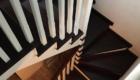Лестница на косоурах в доме изготовление лестниц в Краснодаре Крыму