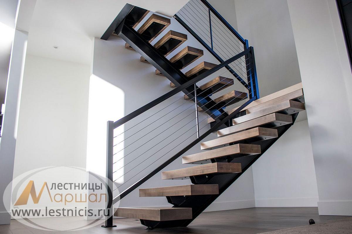 Изготовление лестниц на металлокаркасе Краснодар Крым