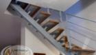 Лестницы на металлокаркасе в частном доме Краснодар Крым