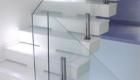 Лестница со стеклом фото на второй этаж Крым Краснодар
