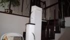 Отделка лестницы из металлокаркаса деревом Краснодар Крым