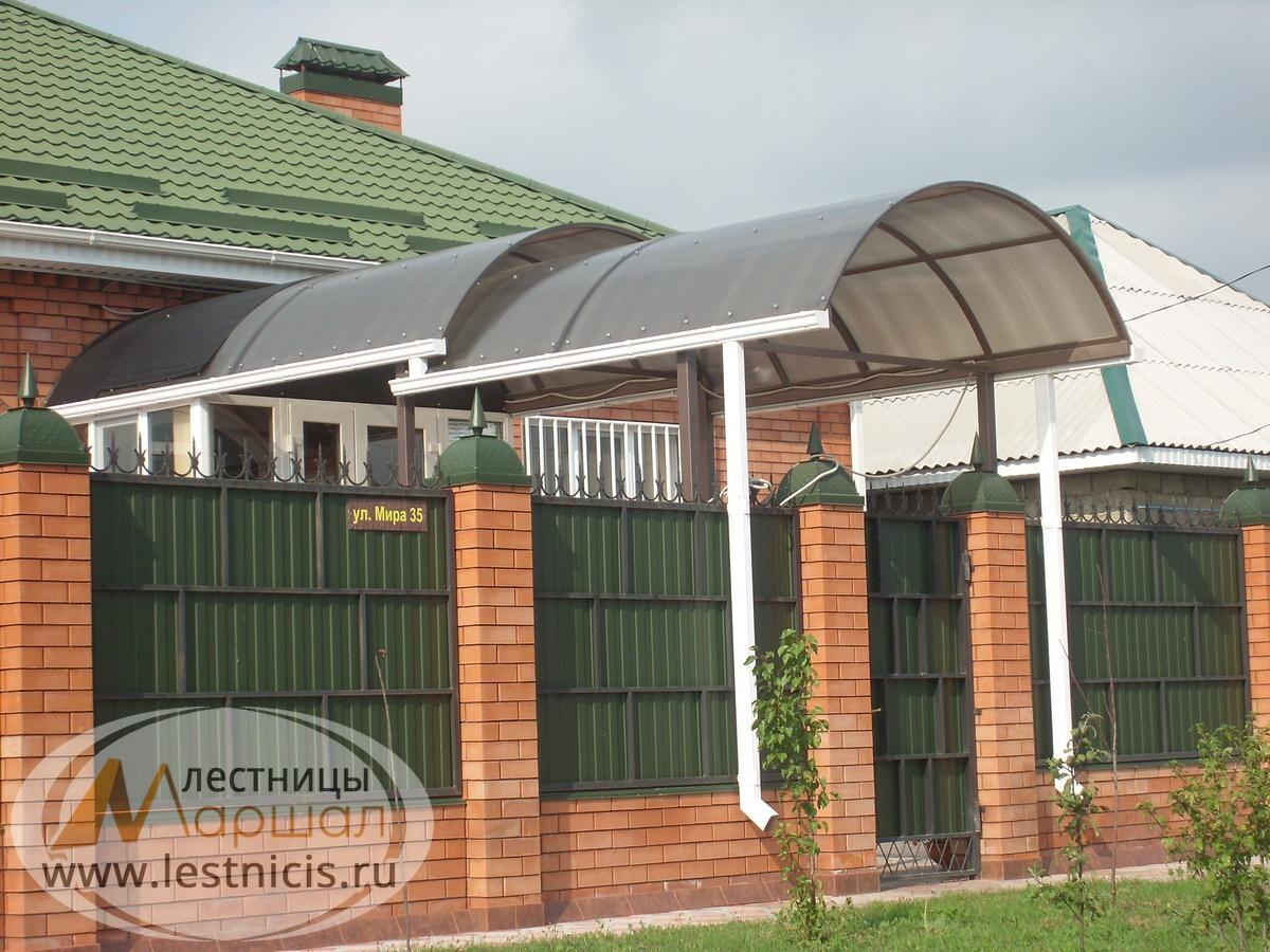 Навес в частном доме в Краснодаре