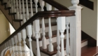 Лестница ограждением второй этаж Краснодар Крым