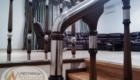 Ограждение для лестницы из дерева Краснодар Крым