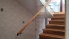 Лестница со стеклом купить лестницу в Краснодаре Крыму