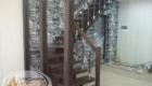 Лестница с поворотом на металлокаркасе Краснодар Крым