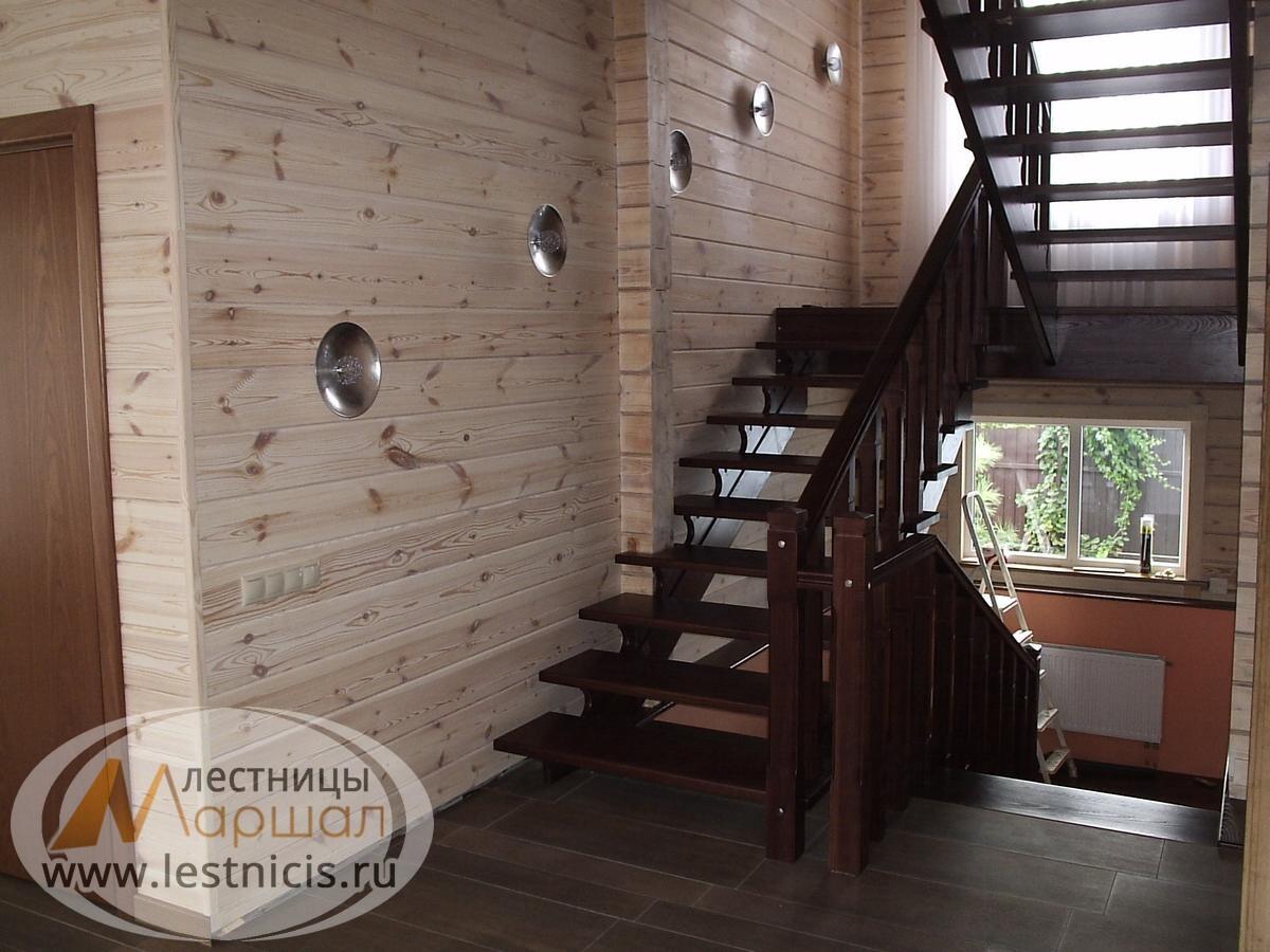 Бетонная лестница на косоуре Краснодар Крым