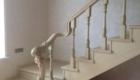 Резная лестница из дерева фото в дом Краснодар Крым
