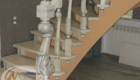 Резные лестницы из дуба на заказ Краснодар Крым