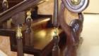 Резные лестницы из дерева с металлом в дом Краснодар Крым