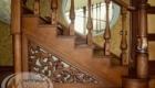 Резьба лестницы в дом Краснодар Крым