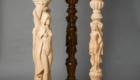 Столбы для лестницы деревянные Краснодар Крым