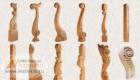 Столбы и балясины для деревянных лестниц Краснодар Крым